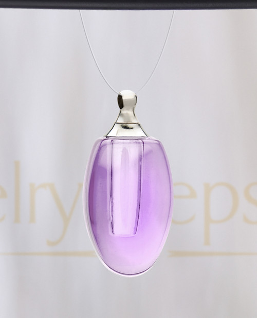 Violet Forever Glass Reflection Pendant