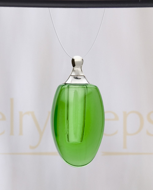 Lime Forever Glass Reflection Pendant