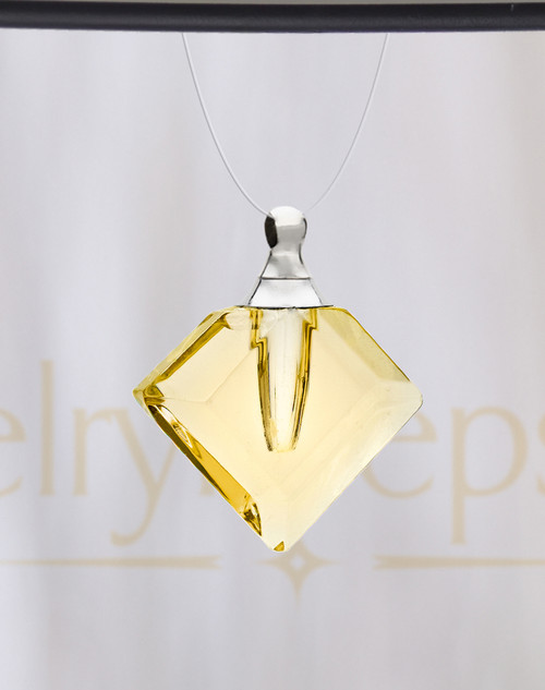 Yellow Fascination Glass Reflection Pendant