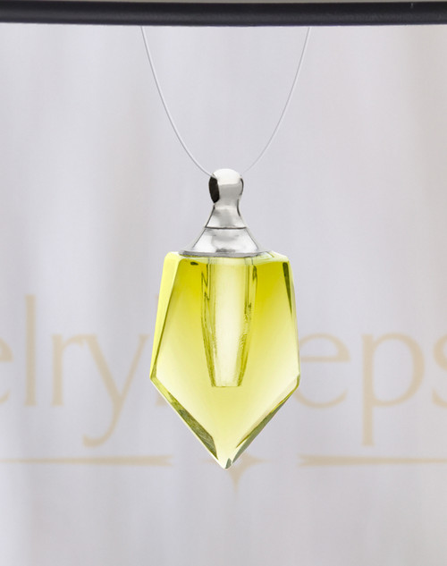 Yellow Devoted Glass Reflection Pendant