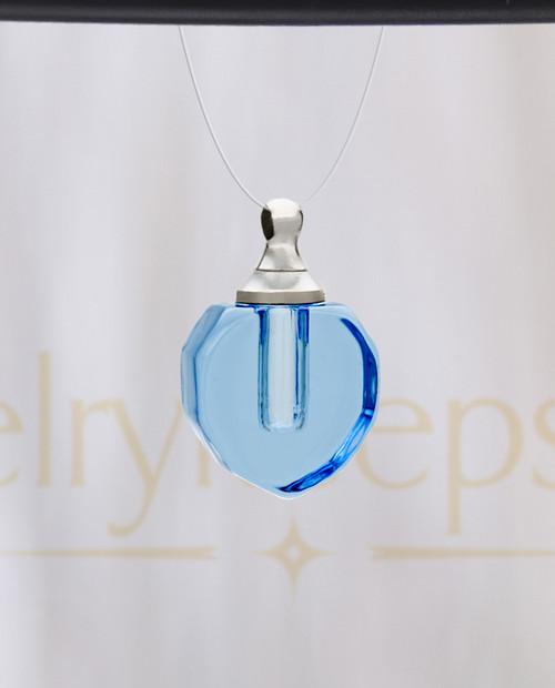 Ocean Teardrop Glass Reflection Pendant