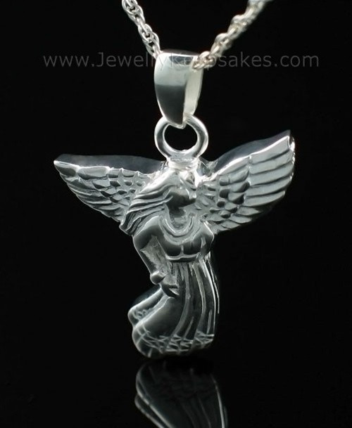 Memorial Jewelry Sterling Silver Angel