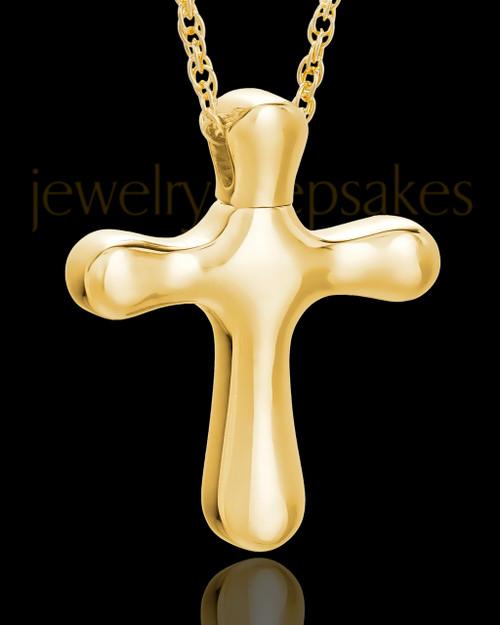 Keepsake Pendant Kester Cross - 14K Gold Plated