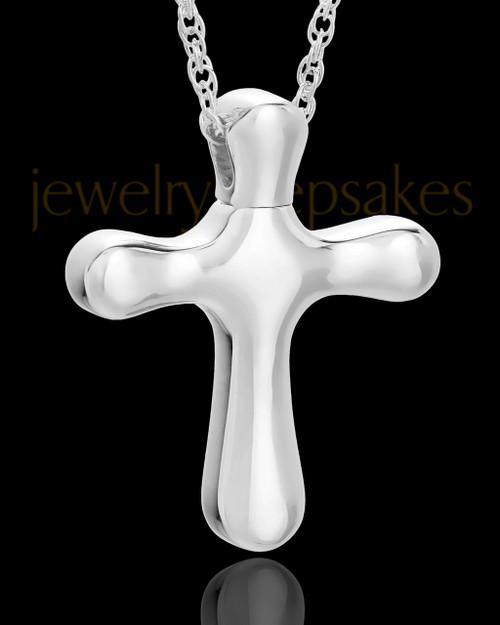 Keepsake Pendant Kester Cross Keepsake in Sterling Silver