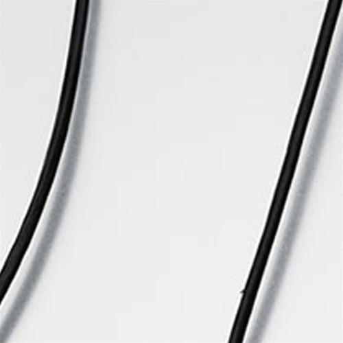 "Black 20"" Leather Cording"