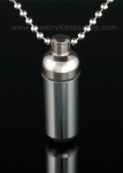 Cremation Keepsake Aluminum Cylinder