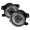 Jeep Wrangler Jk-Jku 07-18 Spyder Projector Fog Lights With Halos
