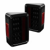 SPYDER BLACK SMOKE LED TAIL LIGHTS. SOLD IN PAIRS.