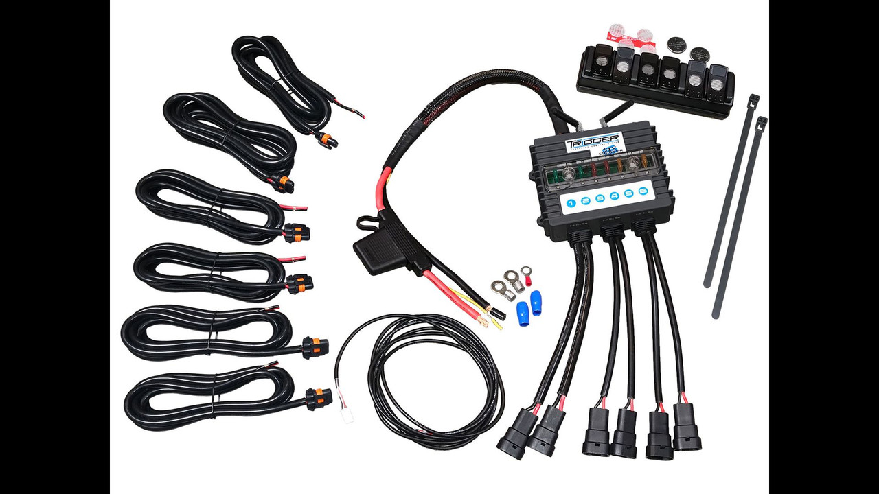 AAC TRIGGER 6 SHOOTER WIRELESS CONTROL, SWITCH PANEL