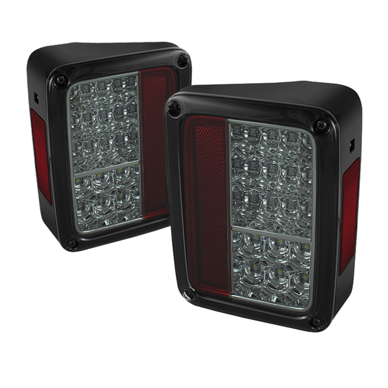SPYDER SMOKE LED TAIL LIGHTS. SOLD IN PAIRS.