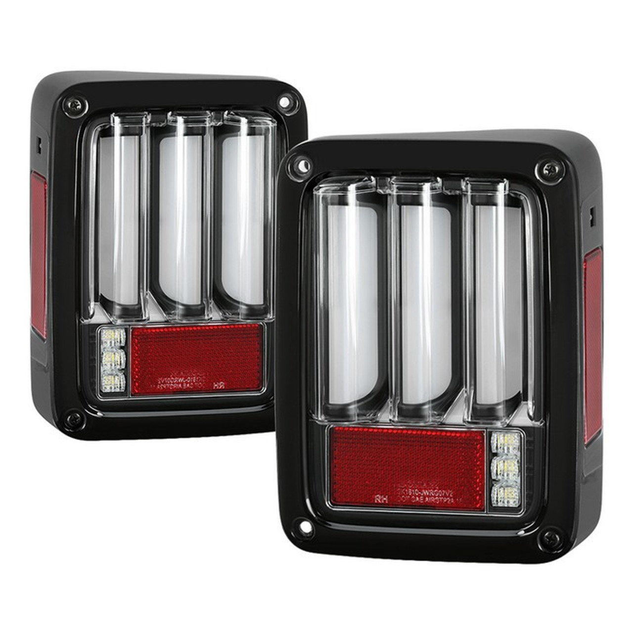Jeep Wrangler Led Tail Lights >> Jeep Wrangler Jk Jku 07 18 Version 2 Light Bar Sequential Turn