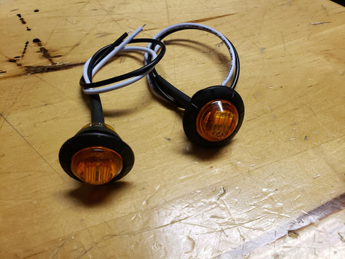 Fender Flare Replacement LED Lights (Amber)