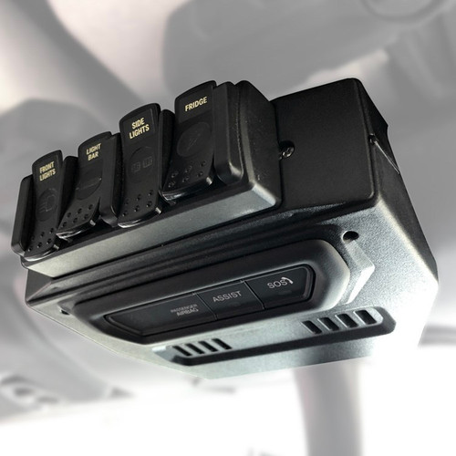 TRIGGER 4 PLUS Remote Mount – Fits Jeep JL and JT