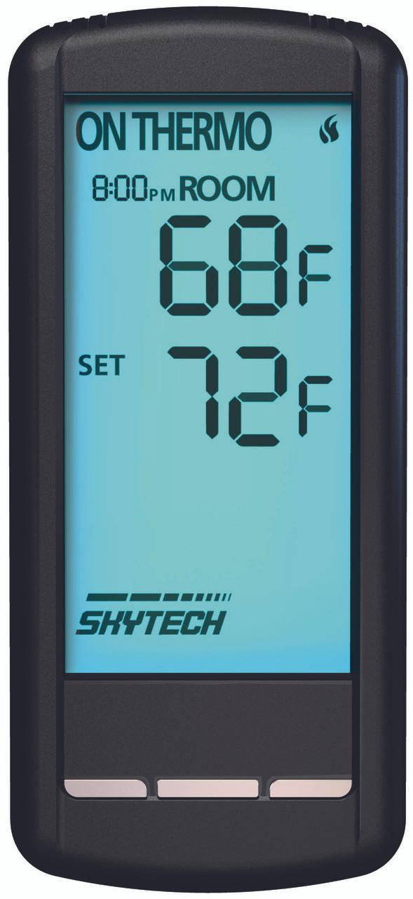 SkyTech SKY-5301 Fireplace-remotes-and-thermostats Black