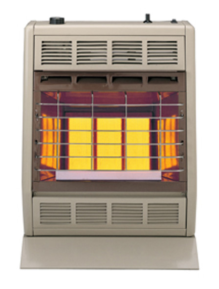 SR18W VENT-FREE INFRARED HEATER 18,000 BTU MANUAL CONTROL WHITE