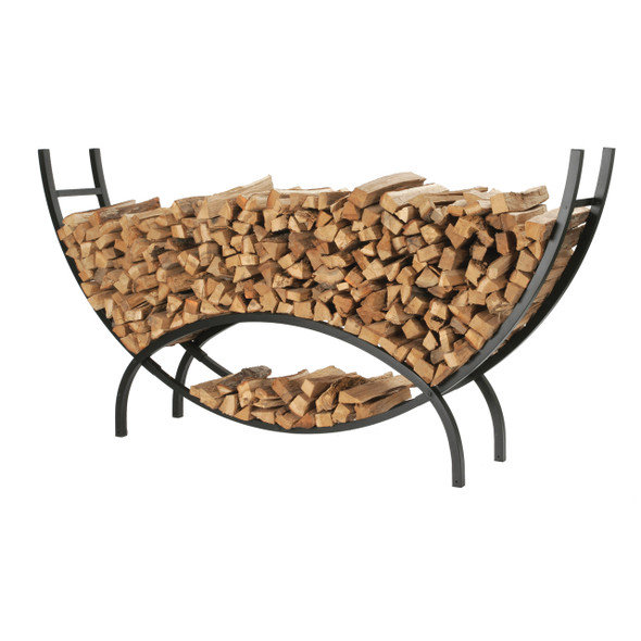 Extra Large Crescent Log Rack