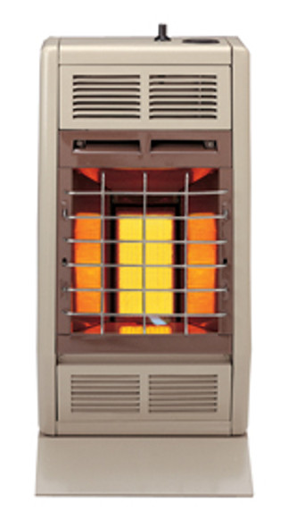 SR10TW VENT-FREE INFRARED HEATER 10,000BTU THERMOSTATIC CONTROL WHITE
