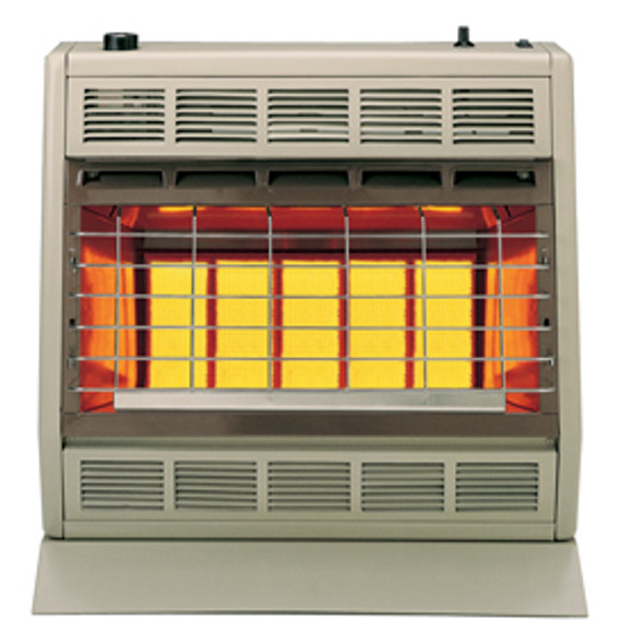SR30TW VENT-FREE INFRARED HEATER 30,000BTU THERMOSTATIC CONTROL WHITE