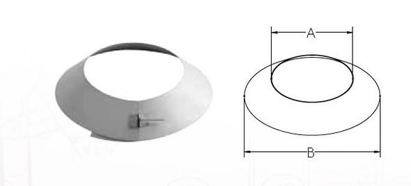 Vent pipe collar W170-0181