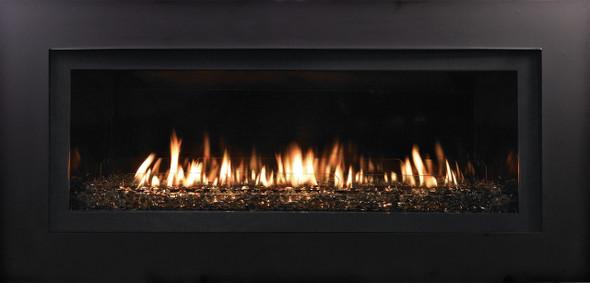 "DVLL48BP92 Boulevard Direct-Vent Linear Contemporary Fireplace 48"""