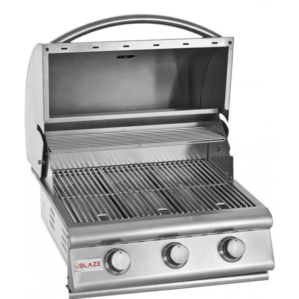 BLZ-3-LP Blaze 25 Inch 3-Burner Built-In Gas Grill