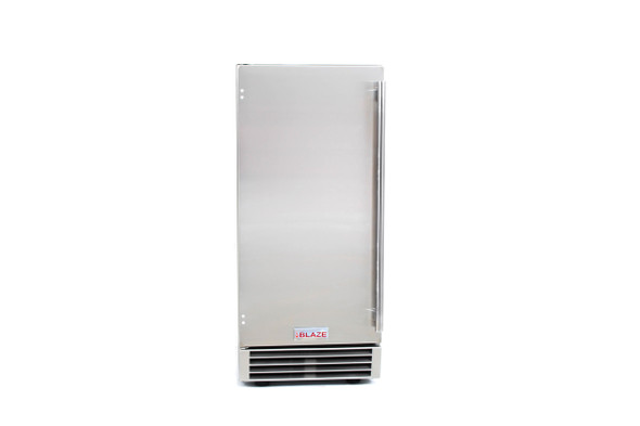 BLZ-ICEMKR-50GR Blaze 50 Lbs 15 Inch Outdoor Ice Maker