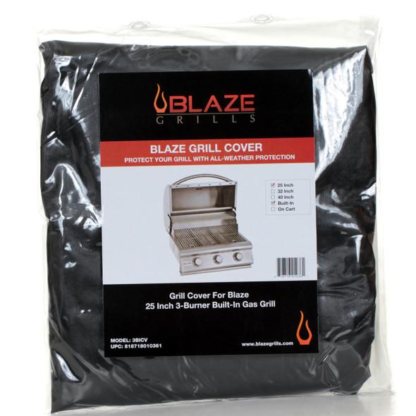 3BICV Blaze 3-Burner Built-In Grill Cover