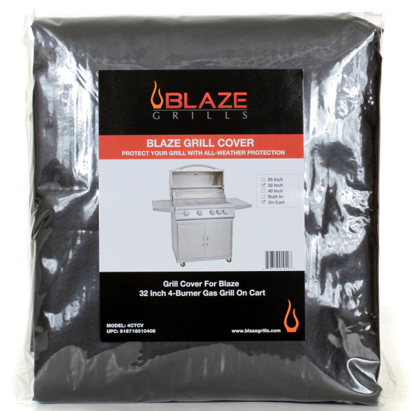 4CTCV Blaze 4-Burner On-Cart Grill Cover
