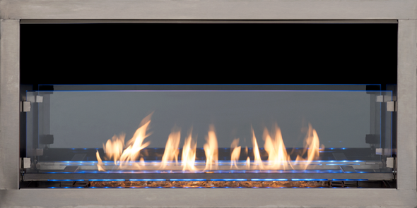 """SUPERIOR VRE4672 OUTDOOR LINEAR FIREPLACE 72"""""""