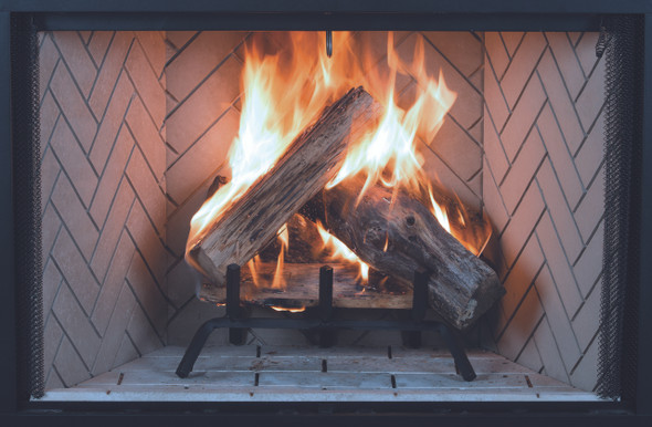 WRT3538 38 MID-SIZED WOOD BURNING FIREPLACE