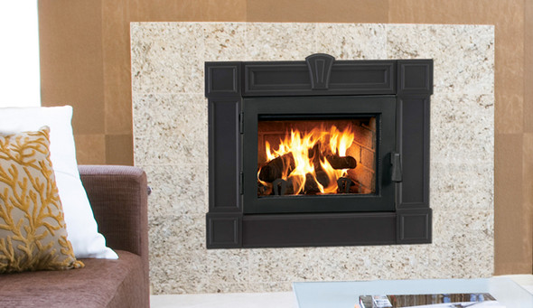 WRT3920 EPA CERTIFIED WOOD BURNING FIREPLACE TRADITIONAL WITH WHITE STACKED LINER