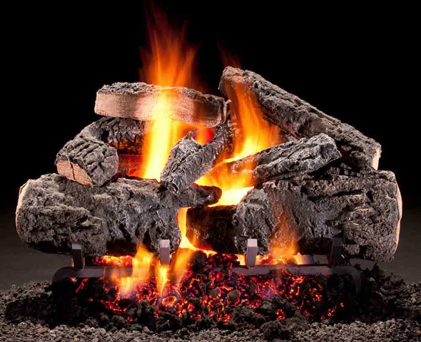 Hargrove Cross Timbers Radiant Heat Series Vented Gas Log Set 24""