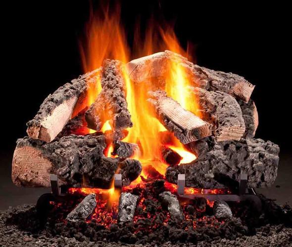 "Hargrove Woodland Timbers Radiant Heat Series Vented Gas Log Set 24"""