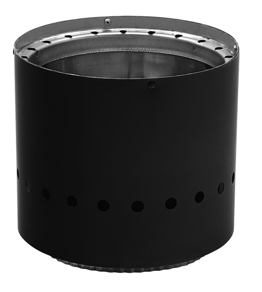 """DOUBLE WALL BLACK 8"""" ADAPTER"""