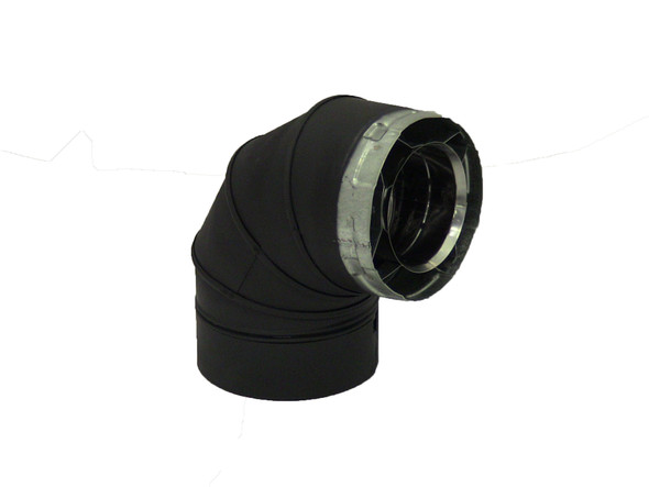 45 DEGREE SWIVEL ELBOW - BLACK  5D45LB