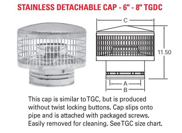 CAP [DETACHABLE]  8TGDC