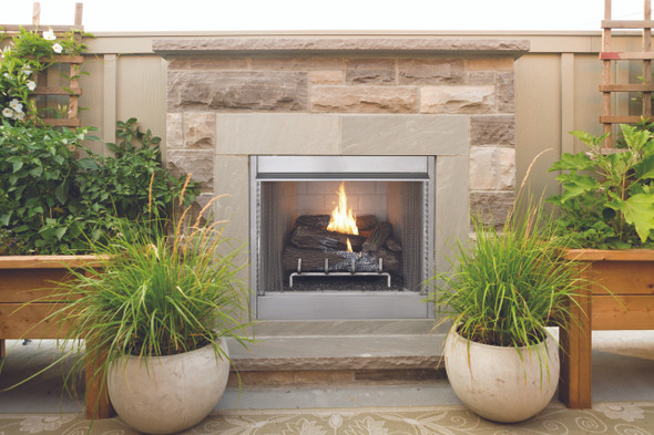 "VRE4242  42"" OUTDOOR\INDOOR VENT-FREE FIREBOX"