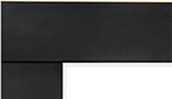 DS-BLK-RNCL35 DECORATIVE SURROUND MATTE BLACK