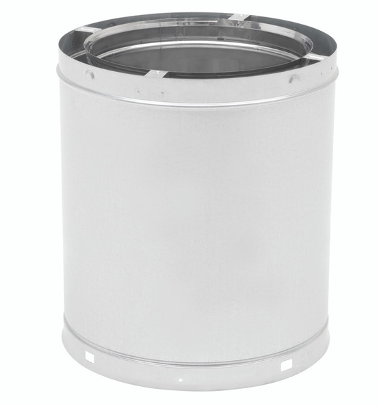 """13"""" ECO-STEEL INSULATED CHIMNEY FLUE (STAINLESS STEEL) 18"""" Chimney Flue - SS 13INECO18"""