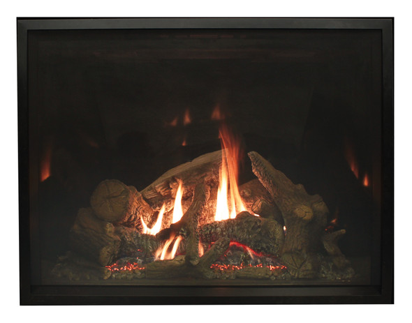 Rushmore Clean Face Direct Vent Fireplace, 50 TruFlame Technology, Multi-Function System Includes Thermostat Variable Remote Control - DVCT50CBP95