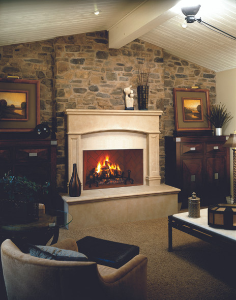 "36"" Wood Burning Masonry Fireplace (interior sold separately) - WRT6036 - F4219"