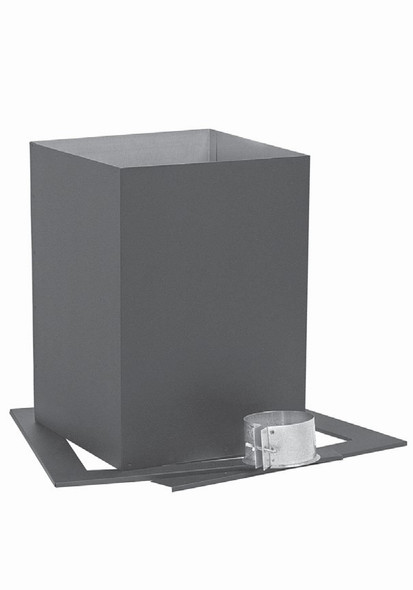 """Pellet Vent, Biomass Chimney, Type """"L"""" Vent, 3-in., Roof Support - 3PRS"""