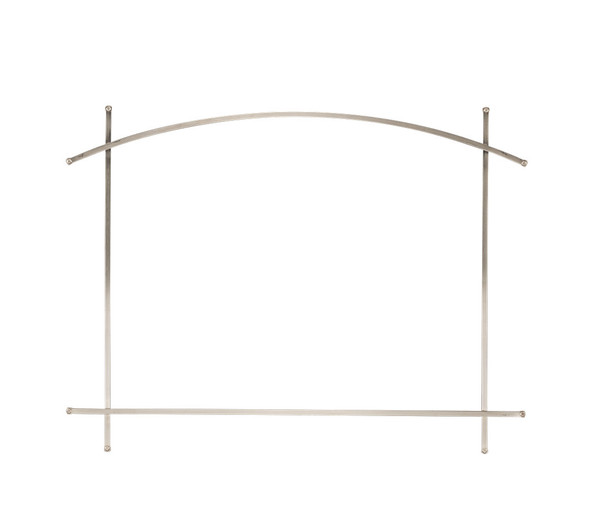 Arched Iron Element Satin Nickel (Fits on Whitney Front) AEEX36SN