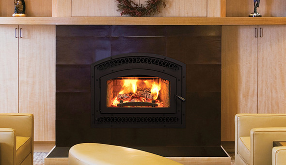 EPA Cert. Fireplace, Trad., Wht Stacked WCT6920WS