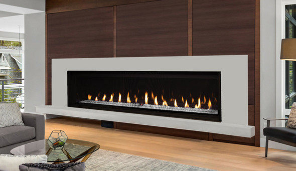 """72"""" Direct Vent Fireplace, Linear, Lights, Electronic Ignition, Natural Gas DRL6072TEN"""