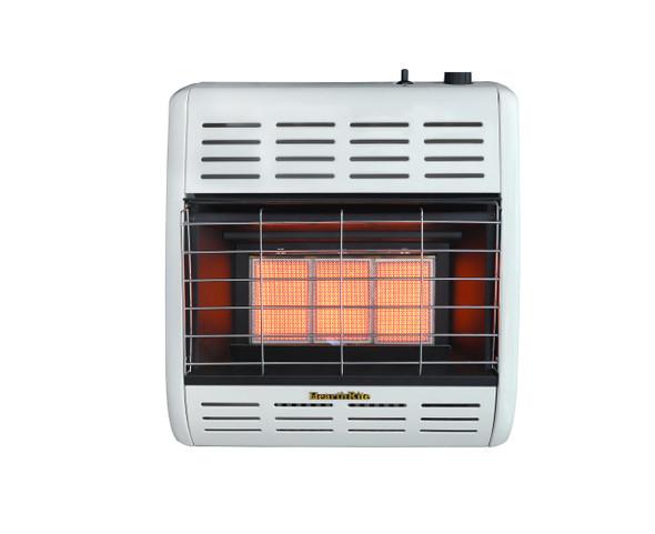 HearthRite Vent-Free Infrared Heaters Thermostat, 18,000 Btu, Nat HRW18TN