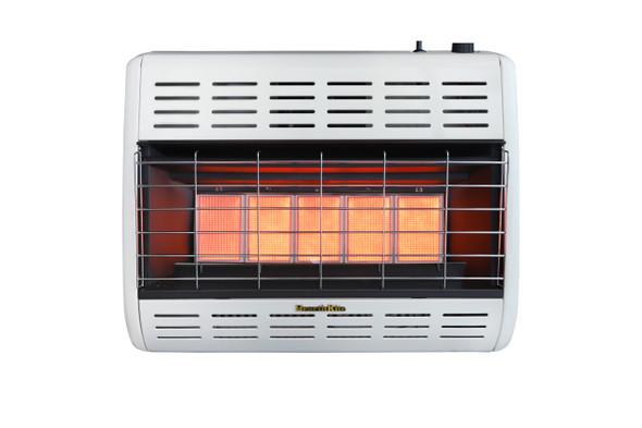 HearthRite Vent-Free Infrared Heaters  Thermostat, 25,000 Btu, Propane HRW25TL