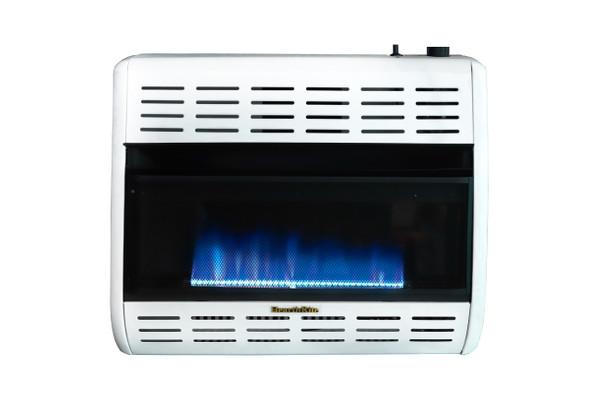 HearthRite Vent-Free Blue Flame Heaters Thermostat, 30,000 Btu, Propane HBW30TL