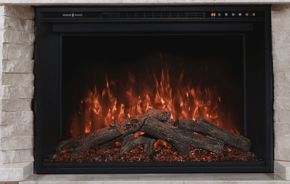 """36"""" REDSTONE TRADITIONAL ELECTRIC FIREPLACE (10"""" DEEP - 32.5"""" X 21"""" VIEWING) RS-3626"""