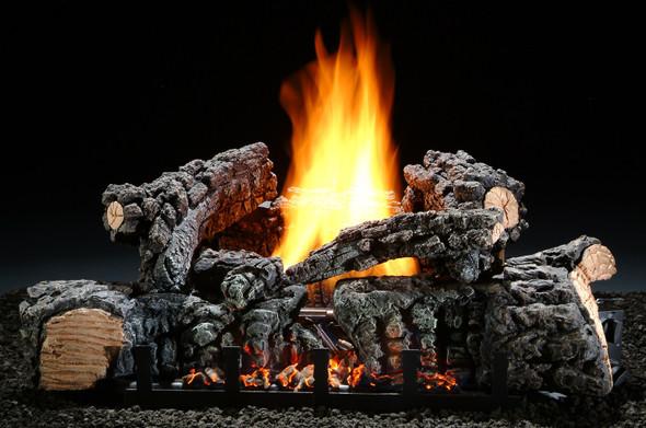 "Hargrove Charleston Glow Vent-Free Log Set 26"" Millivolt LP Remote Ready EFCG26P2C"